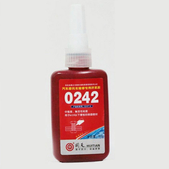 Medium Strength Threadlocker 0242, Loct. 242, for M6-M20 thread locker easy to disassemble